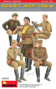 SOVIET JEEP CREW