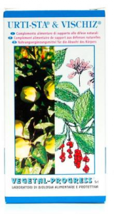 Vegetal Progress URTI-STA VISCHIZ supporto alle difese naturali