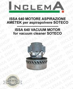 ISSA 640 Ametek Vacuum Motor for Vacuum Cleaner SOTECO