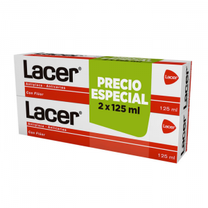 Lacer Toothpaste 2x125ml