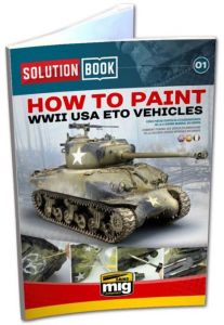 How to paint WWII USA ETO Vehicles
