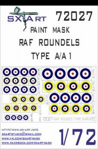 RAF Roundels Type A/A1