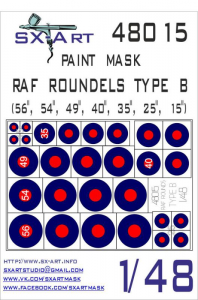 RAF Roundels Type B