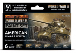 WWII American Armour & Infantry