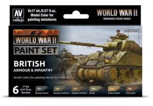 WWII British Armour & Infantry