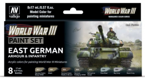 WWIII East German Armour & Infantry