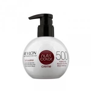 Revlon Nutri Color Creme Free Ammonia 500 Rosso Porpora 270ml
