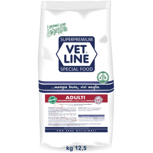 Vet Line Adulti Bufalo monoproteico  All Breeds 12,5 kg