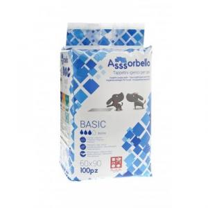 Assorbello Basic Tappetini Igienici 60x90 cm 100 pezzi