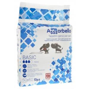 Assorbello Basic Tappetini igienici 60x60 cm 100 pezzi