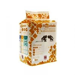 Assorbello Premium Tappetini Igienici  con attrattivo 60x90 cm 30 pezzi