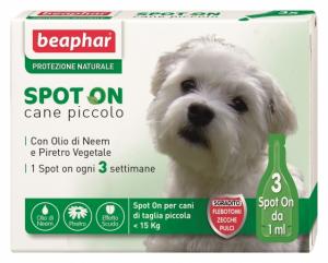 Beaphar per cani di peso < 15 kg 3 fialette.