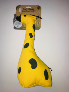 Beco Family George the giraffe  large Gioco in plastica riciclata