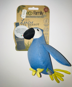Beco Family Lucy the parrot  large Gioco in plastica riciclata