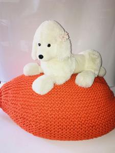 Croci Cuscino in uncinetto Arancio