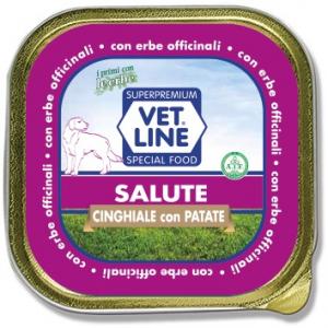 Mangime umido Salute cinghiale 150 gr Vet Line