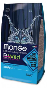Monge BWild low grain   acciughe adult 1,5 kg