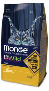 Monge B Wild Low Grain  Lepre adult 1,5 kg