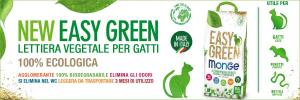 Monge Easy Green Lettiera vegetale per gatti rettili e furetti 10 l