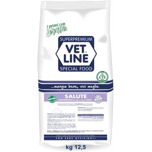 Vet Line Salute Monoproteico Cervo e patate 12,5 Kg