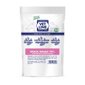 snack maiale Vet Line 80 gr
