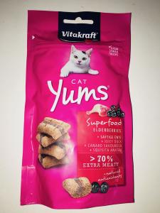 Vitakraft cat Yums Superfood con anatra 40 gr
