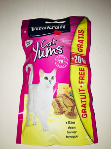 Vitakraft Cat yums  Cheese  40g +20%omaggio