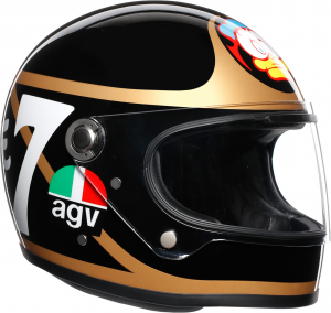Casco integrale AGV Legends X3000 Limited Edition BARRY SHEENE in fibra