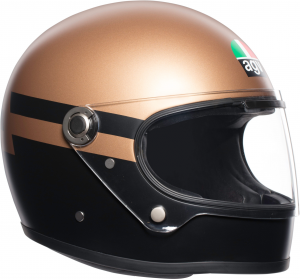 Casco integrale AGV Legends X3000 MULTI SUPERBA oro nero
