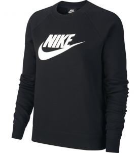 Felpa Nike Donna Con Logo Black/White  BV4112/010