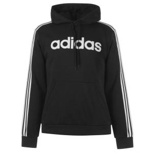 Felpa Adidas E 3s Po Fl Logo Black/White DQ3096