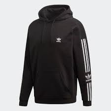 Felpa Adidas Lock Up Hoody Black  ED6124