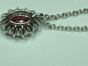 Collana E Rubino Oro Collana Rubino E Oro Diamanti Rubino Collana Diamanti Oro OkuXiPZ