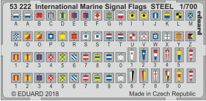 International Marine Signal Flags STEEL