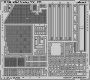 M3A3 Bradley CFV KINETIC MODEL