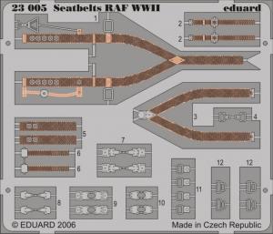 RAF WWII SEATBELTS