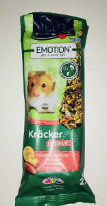 Vitakraft Emotion Kracker fruit per criceti Datteri e Albicocca 2 pz 112 gr