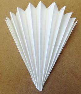 Filtro carta pieghettato in confezione da 10Pz.