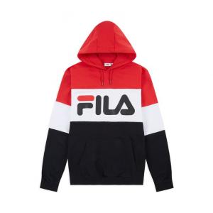 Felpa Fila Con Cappuccio Red/Blue/White 687001