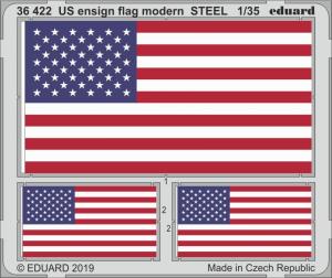 US ENSIGN FLAG MODERN STEEL