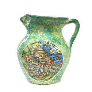 Brocca Abruzzo in ceramica souvenir