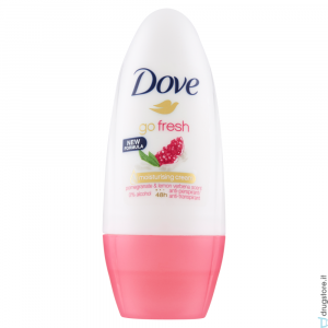 DOVE deodorante roll on go fresh melograno 50 ml
