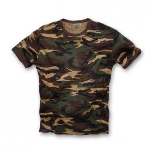 T-shirt Follow me! colore woodland