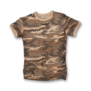T-shirt Follow me! new camo