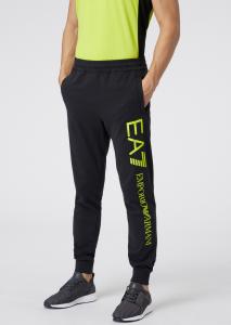 Pantaloni uomo ARMANI EA7 con logo a contrasto