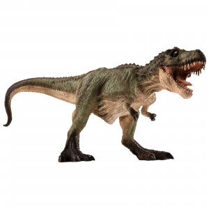 Statuina Animal Planet Dinosauro T-Rex verde a caccia