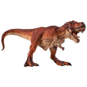 Statuina Animal Planet Dinosauro T-Rex rosso a caccia
