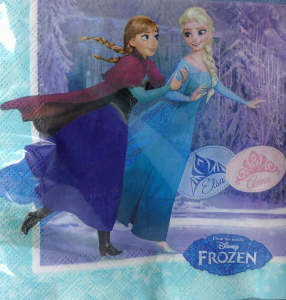 Tovaglioli Frozen e Elsa