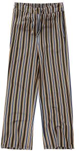 Pantaloni A Righe Ragazza