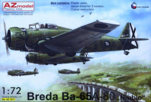 Breda Ba-65A-80 'Nibbio' over Spain (3xcamo)